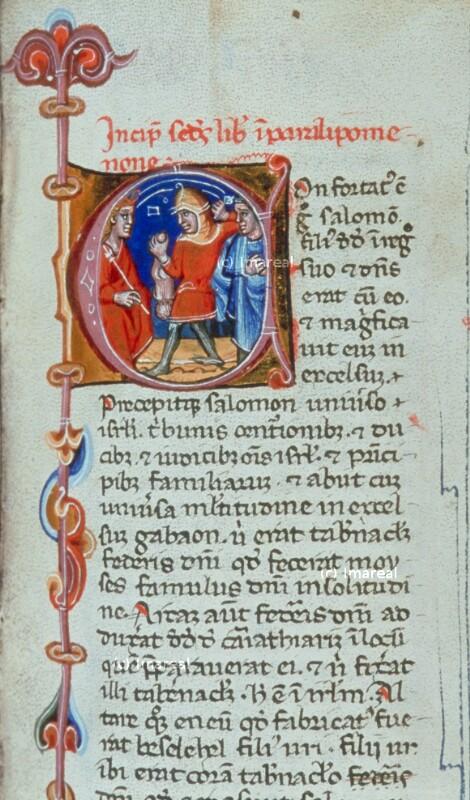 Incipit-Initiale 2 Chr