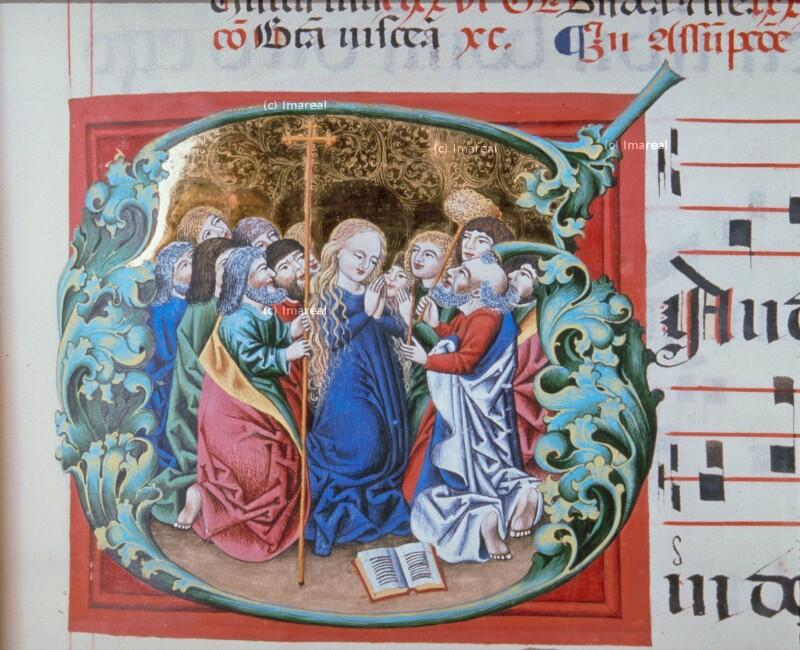 Letztes Gebet Mariens von Jakob von Olmütz