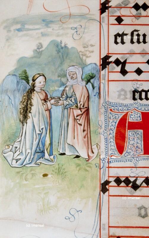 Heimsuchung Mariens von Meister Matthäus