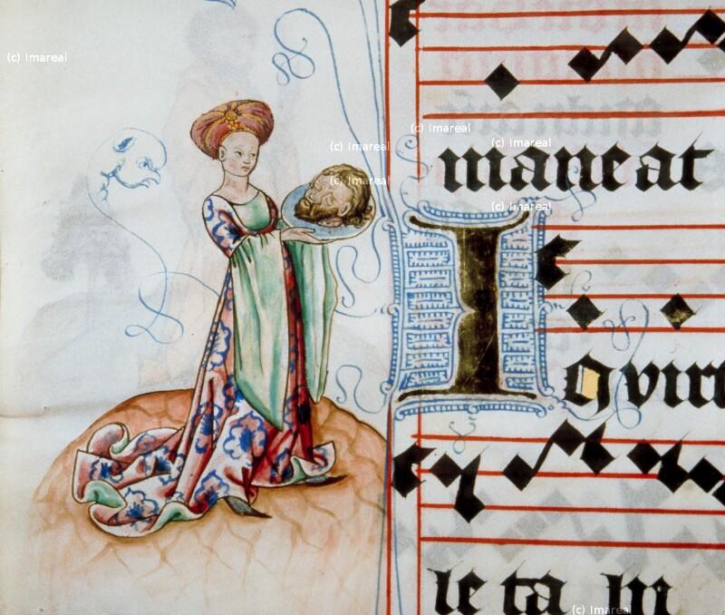 Salome mit dem Haupt des Hl. Johannes des Täufers von Meister Matthäus