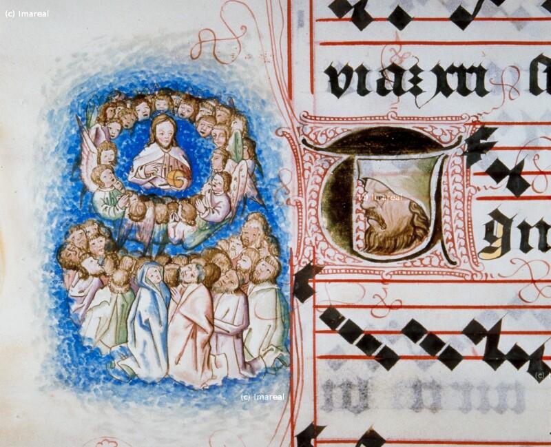 Christus im Chor der Engel von Meister Matthäus