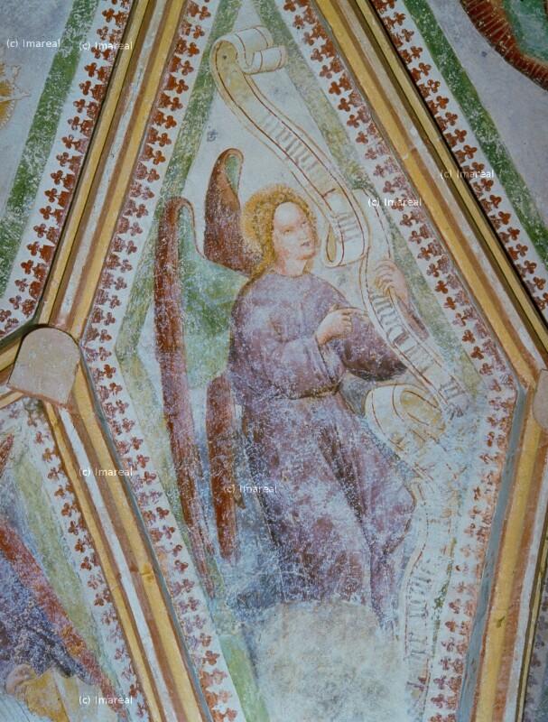 Engel mit Spruchband