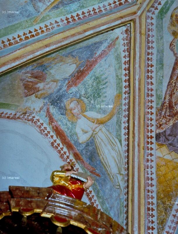 Engel mit Horn