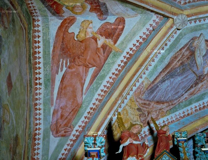 Engel mit Doppelflöte