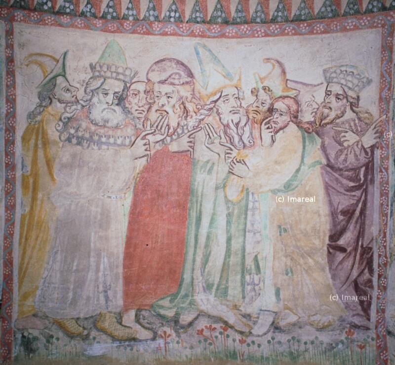 Judas erhält die dreißig Silberlinge