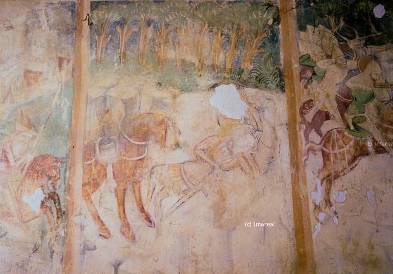 Kumane ruht im Schoß des Mädchens von Johannes von Aquila