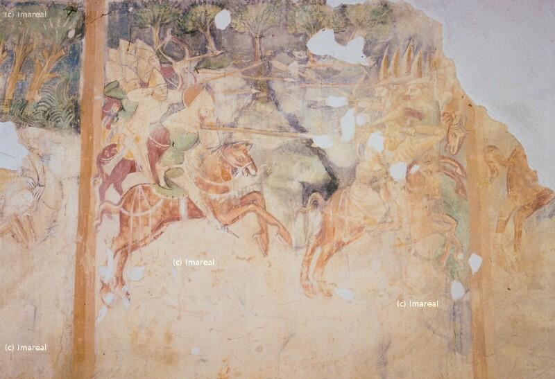 Verfolgung der Kumanen durch den Hl. Ladislaus von Johannes von Aquila