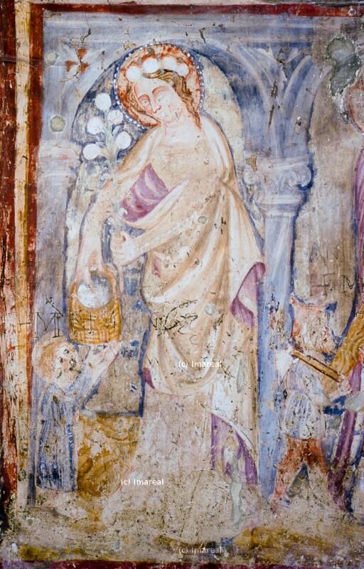 Hl. Dorothea und Botenknabe von Johannes von Aquila