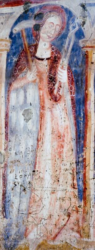 Hl. Apollonia von Johannes von Aquila