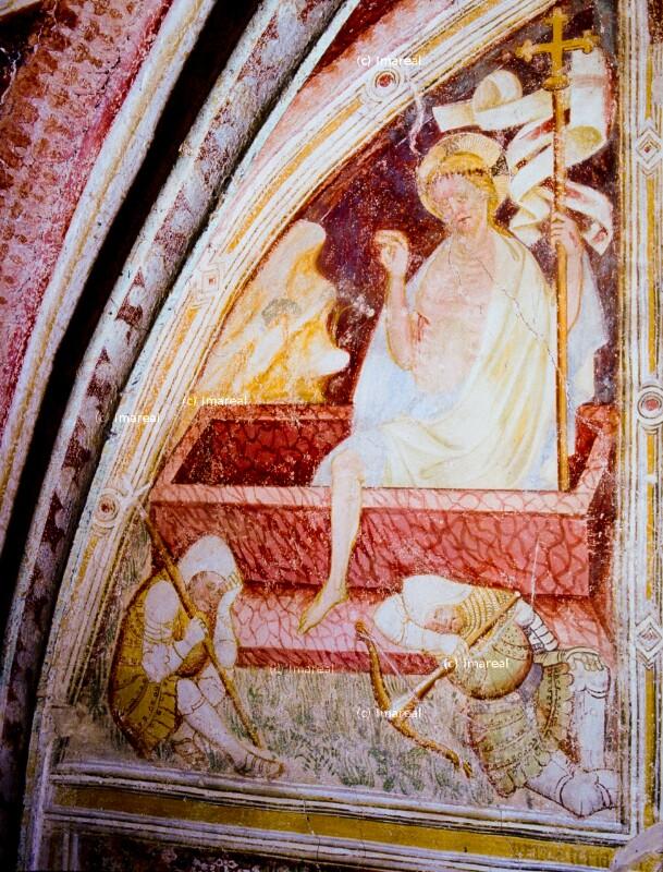Auferstehung Christi von Hans von Bruneck-Umkreis