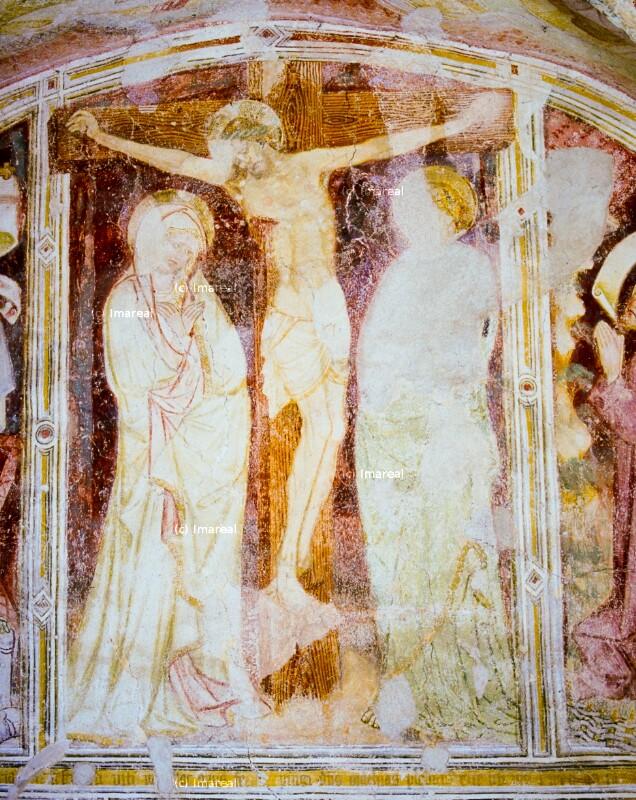 Kreuzigung Christi dreifigurig von Hans von Bruneck-Umkreis