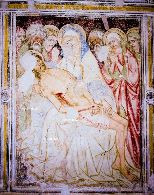Beweinung Christi von Hans von Bruneck-Umkreis