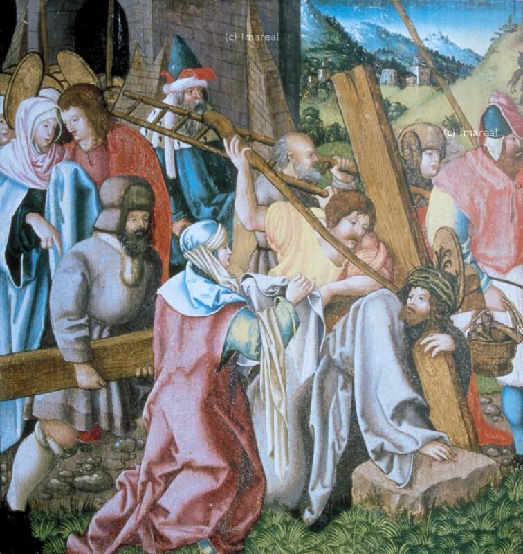 Kreuztragung Christi von Lederer Jörg