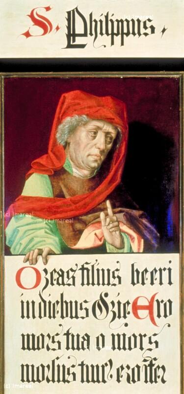 Hosea von Meister des Schottenaltars-Umkreis