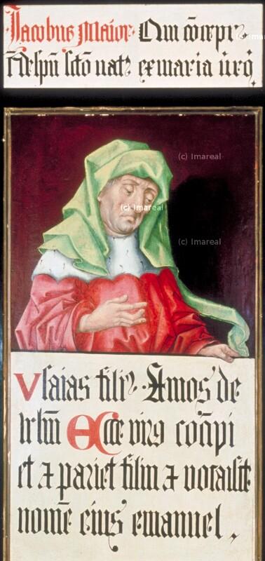 Jesaja von Meister des Schottenaltars-Umkreis