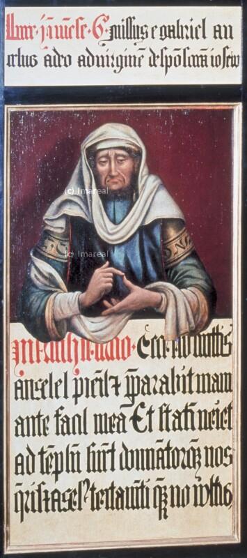 Prophet von Meister des Schottenaltars-Umkreis