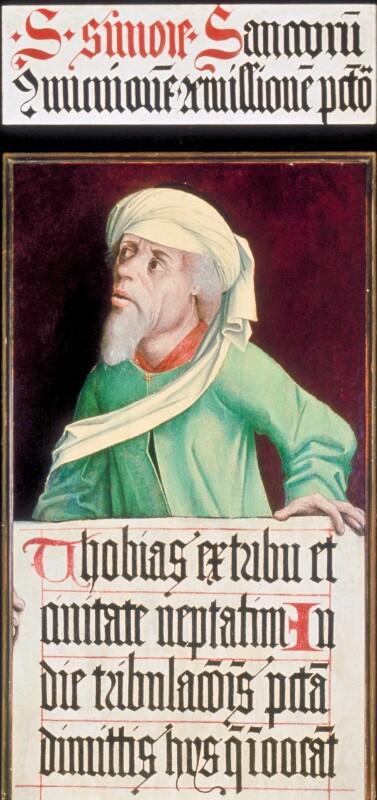 Tobias von Meister des Schottenaltars-Umkreis