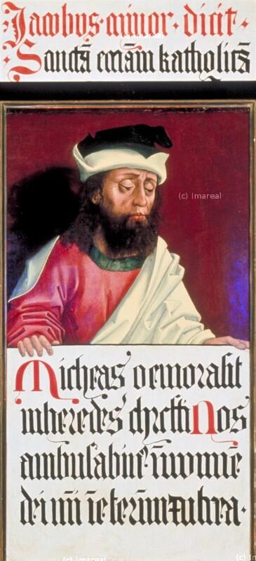 Micha von Meister des Schottenaltars-Umkreis