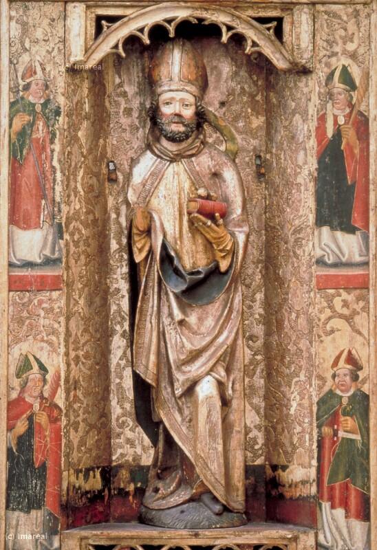 Hl. Nikolaus von Meister des Altars der Anbetung der Könige von Paludzka