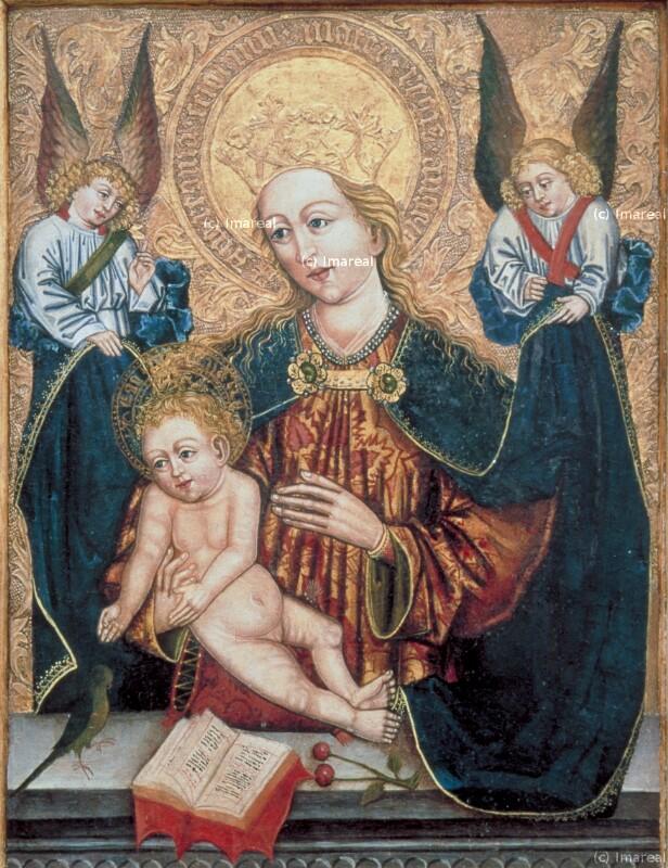 Hl. Maria mit Kind von Nikolaus von Levoca