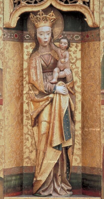 Hl. Dorothea von Meister des Dreikönigsaltars von Paludzka