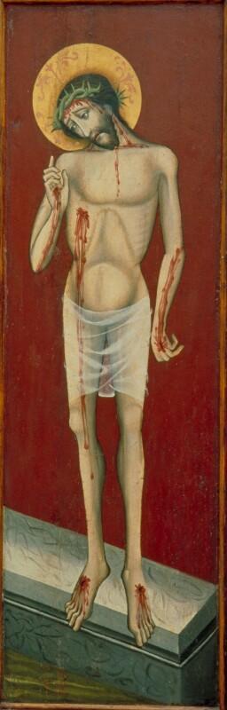 Schmerzensmann von Meister des Triptychons von Strazky