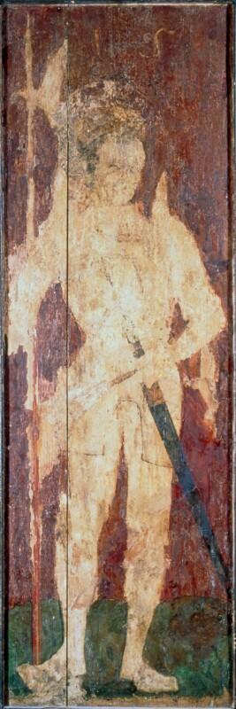 Hl. Ladislaus von Meister des Barbaraaltars von Banská Bystrica-Umkreis