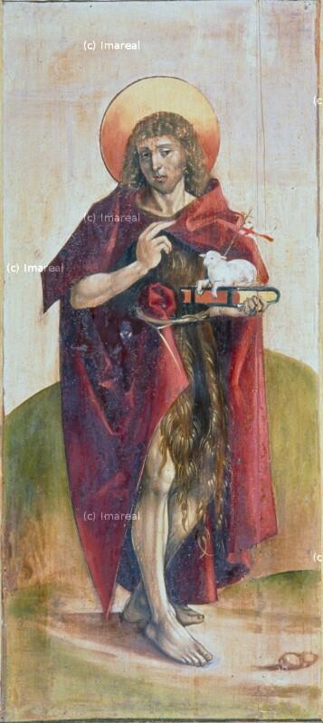 Hl. Johannes der Täufer von Meister des Marienaltars von Levoca