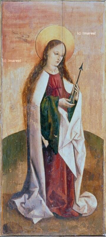 Hl. Ursula von Meister des Marienaltars von Levoca
