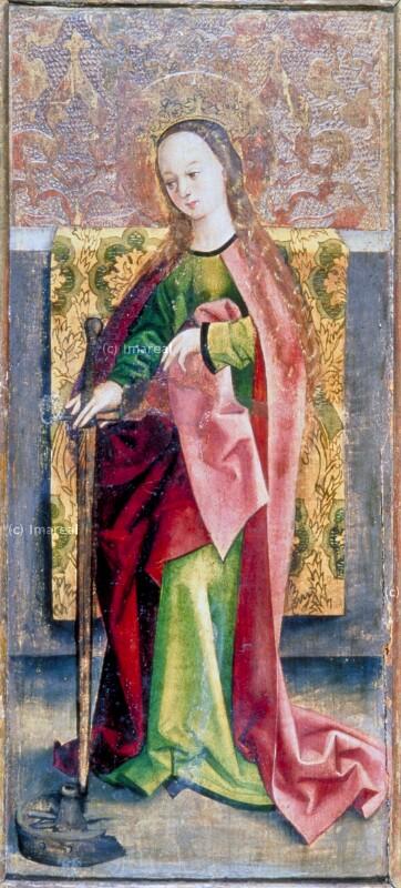 Hl. Katharina von Meister des Marienaltars von Levoca