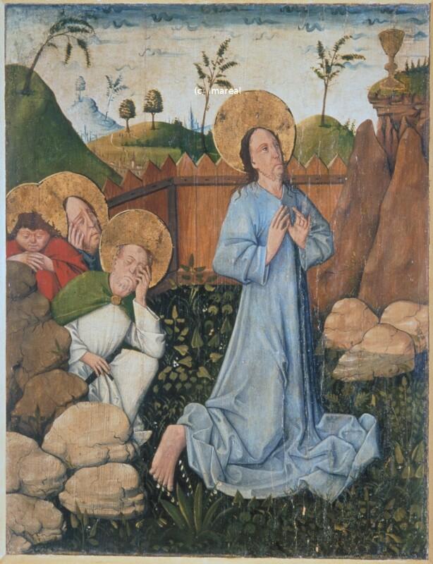 Gebet Jesu am Ölberg von Monogrammist GH
