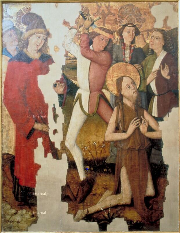 Enthauptung des Hl. Johannes des Täufers von Monogrammist GH