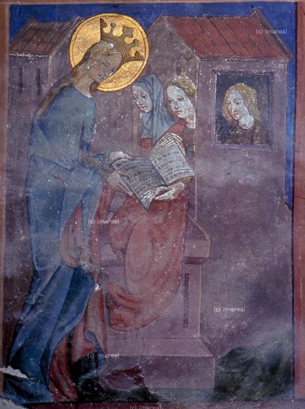 Hl. Dorothea will ihre Schwestern wieder zum Christentum bekehren