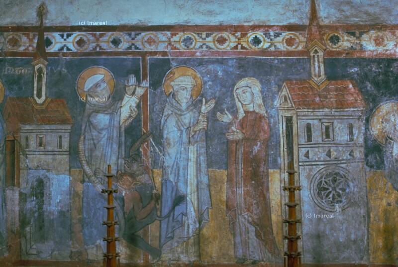 Hl. Antonius übergibt seine Schwester einer Jungfrauengemeinschaft