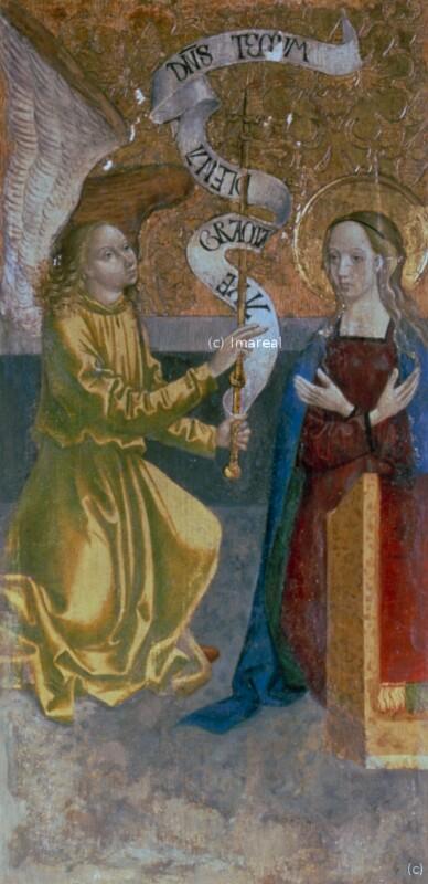 Verkündigung an Maria von Meister der Georgenberger Antoniuslegende