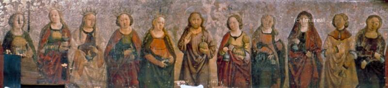 Christus von Meister der Georgenberger Antoniuslegende