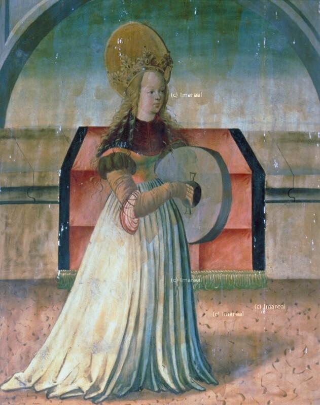 Hl. Christina von Meister der Georgenberger Antoniuslegende