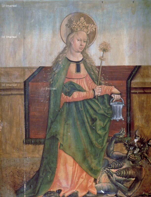 Hl. Margareta von Meister der Georgenberger Antoniuslegende