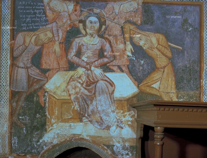 Dornenkrönung Christi von Meister des Presbyteriums von Ochtiná
