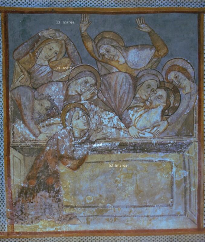 Grablegung Christi von Meister des Presbyteriums von Ochtiná