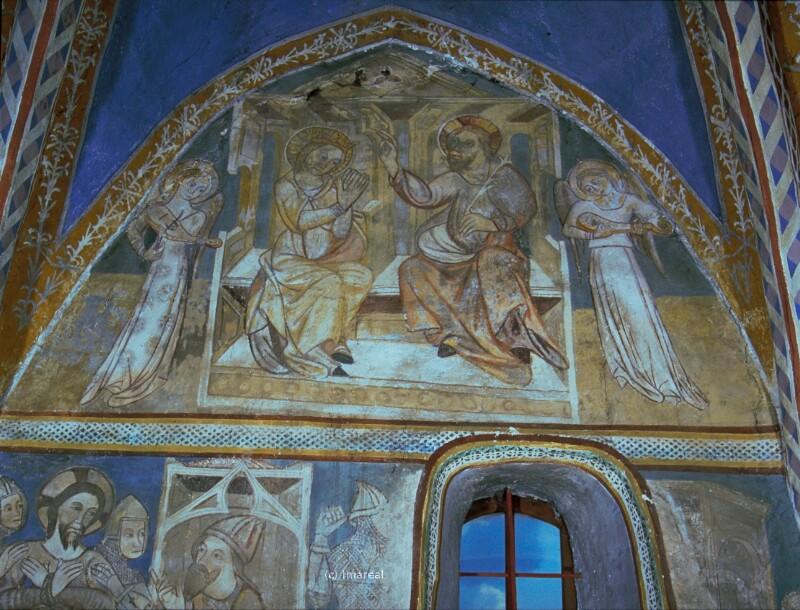 Krönung Mariens von Meister des Presbyteriums von Ochtiná