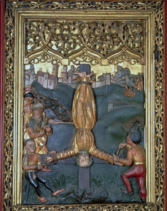 Enthauptung des Hl. Paulus von Paul von Levoca-Umkreis