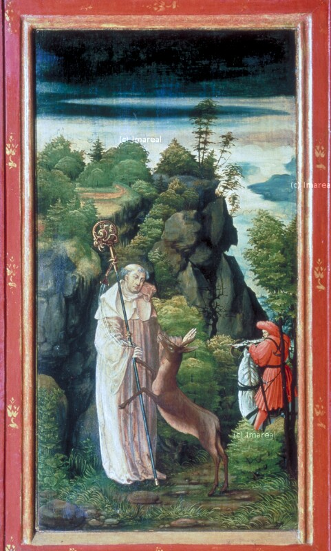 Hl. Ägidius und das Wunder der Hirschkuh