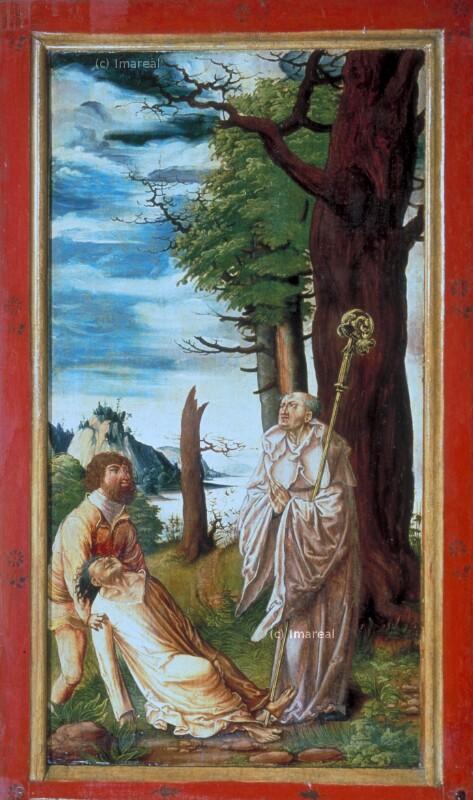 Hl. Ägidius heilt den Sohn des Fürsten von Nîmes