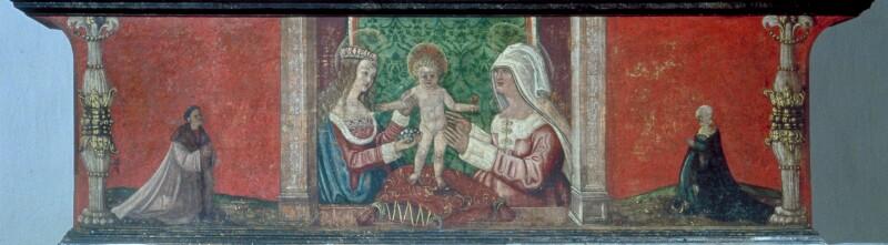 Mystische Vermählung der Hl. Katharina
