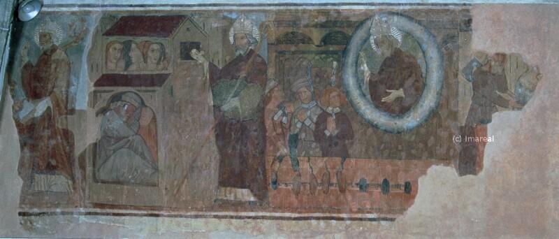 Hl. Nikolaus befreit drei gefangene Fürsten von