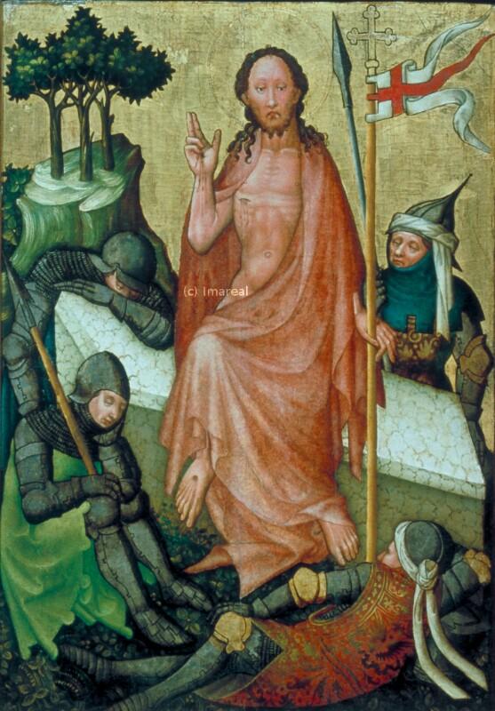 Auferstehung Christi von Meister der Linzer Kreuzigung