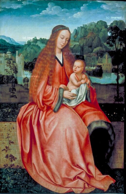 Hl. Maria mit Kind von Massys Quentin