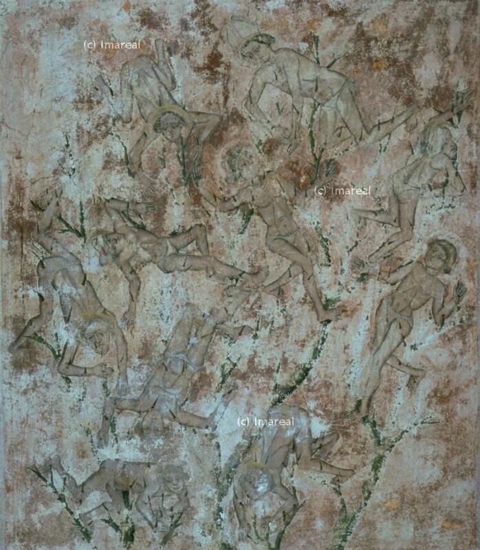 Dornenmartyrium des Hl. Achatius und seiner Gefährten