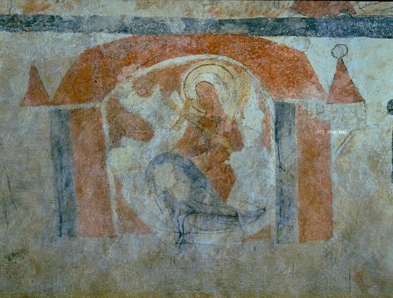 Hl. Margareta bezwingt mit dem Kreuz den Drachen